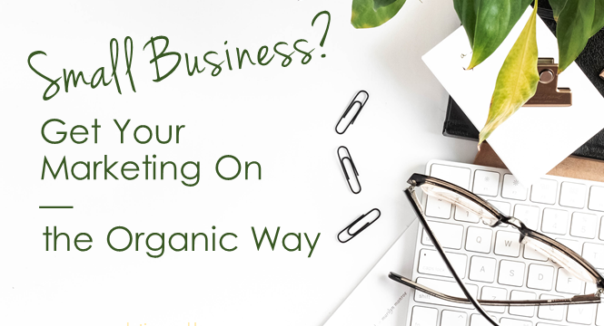 Small Business? Get Your Marketing On—The Organic Way