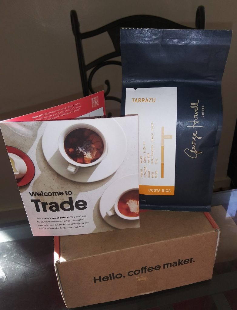 Trade Coffee Subscription - George Howell Tarrazu