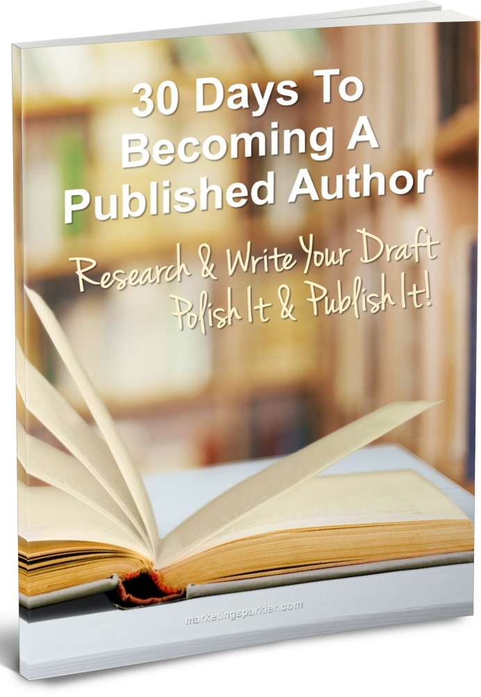 30 Days to Become a Published Author COVER