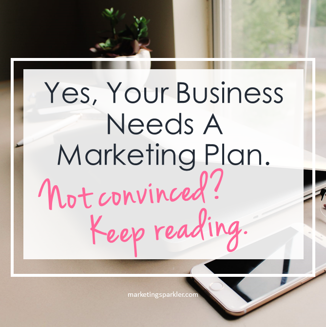 Your business needs a marketing plan