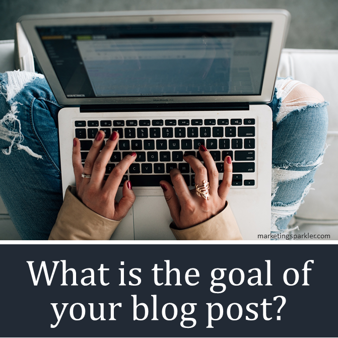 What is the goal of your blog post