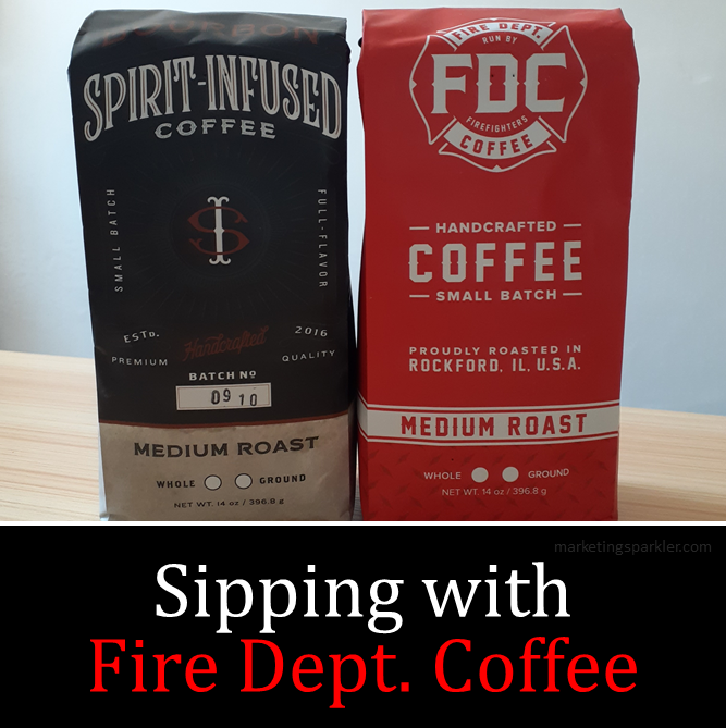 Sipping with Fire Dept Coffee