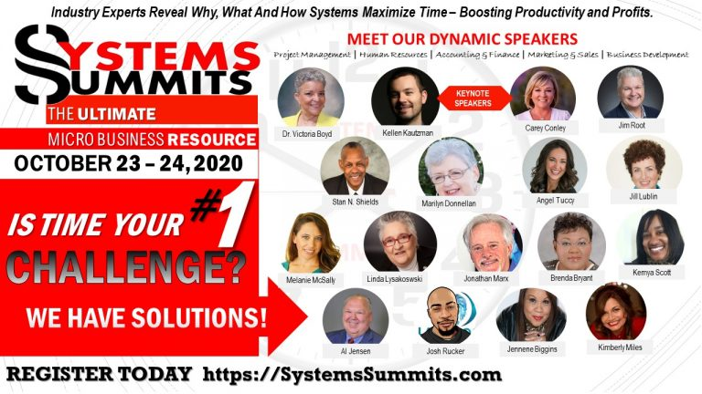 Systems Summits Oct 2020 speakers