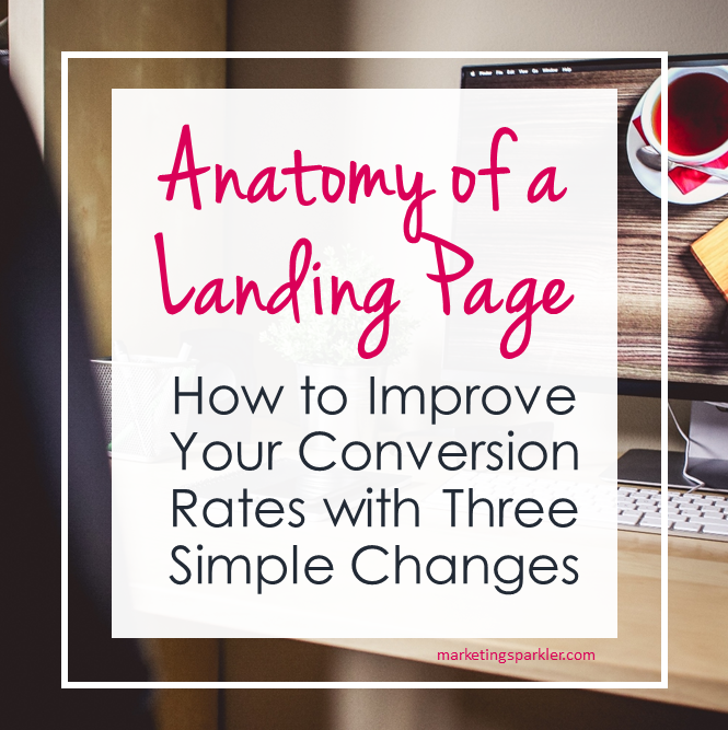 Anatmy of a Landing Page How to Improve Your Conversion Rates with Three Simple Changes