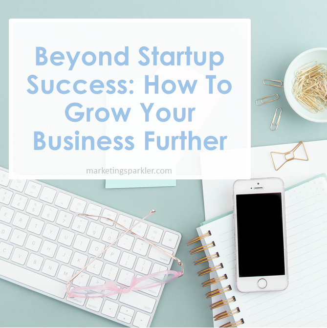 Beyond Startup Success How To Grow Your Business Further
