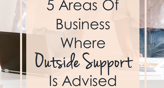 5 Areas Of Business Where Outside Support Is Advised