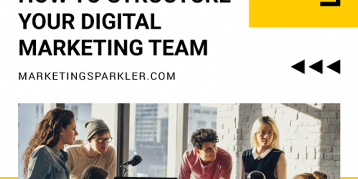 How To Structure Your Digital Marketing Team [Infographic]