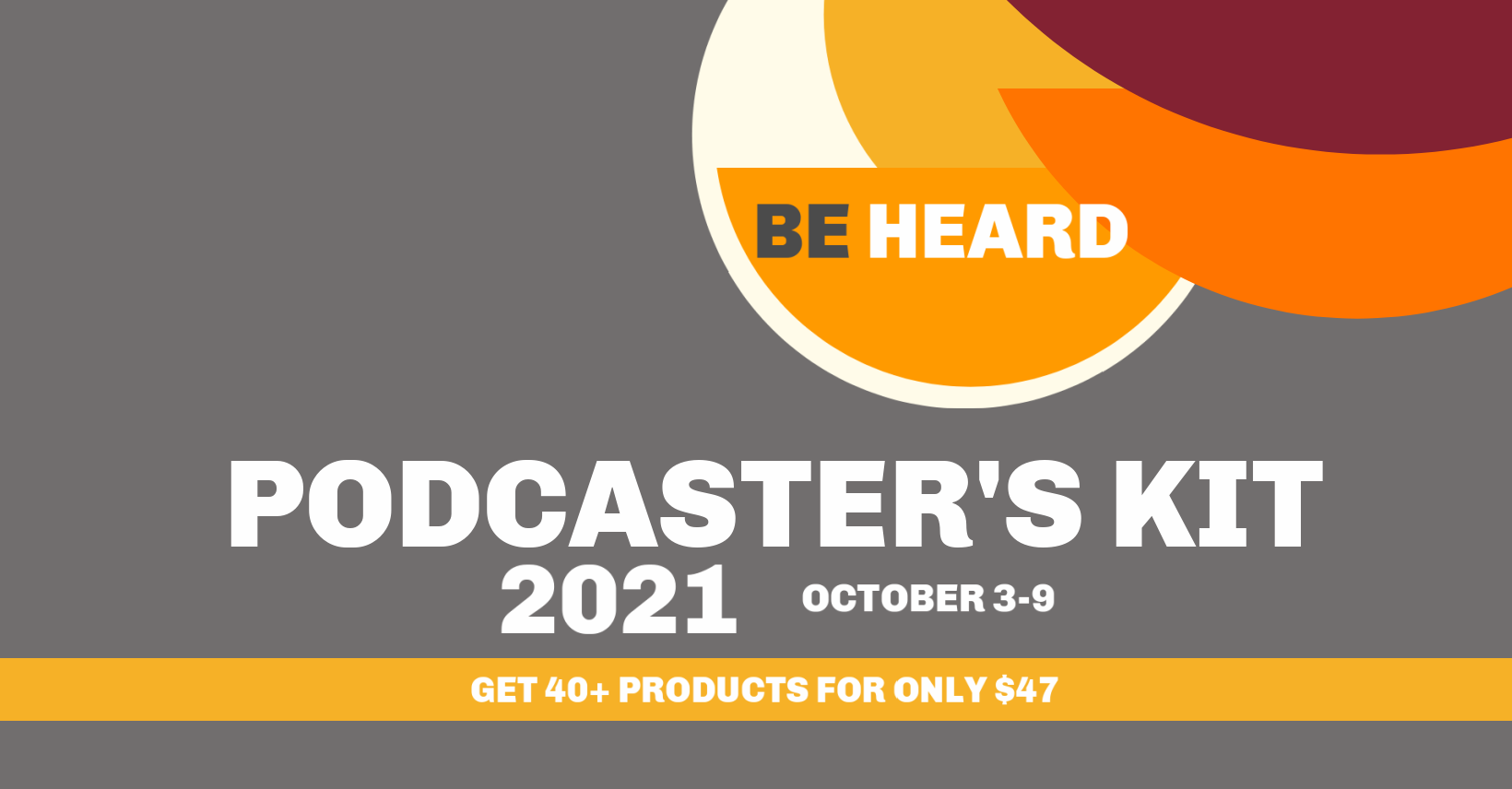 Podcasters Kit 2021